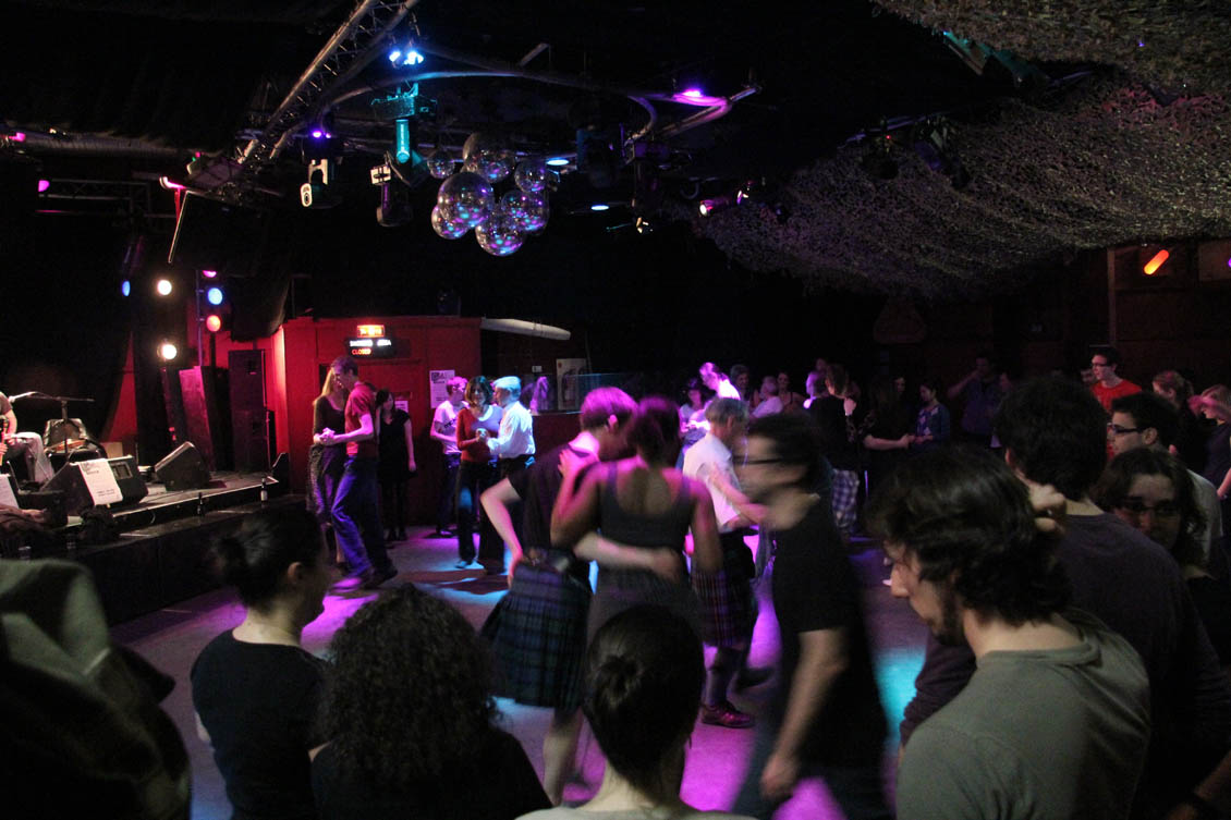 Ceilidh at the Bongo Club
